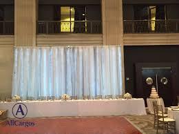 wedding backdrop rental toronto allcargos tent event rentals inc basic table backdrop