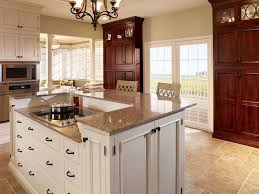 Demar Interiors Starmark Cabinets For A Traditional Kitchen With A Mosaic Tile And