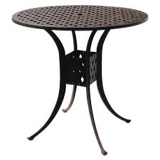 30 round bar table outdoor darlee series 30 round patio bar table dl30 f round bar