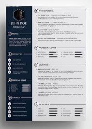 modern resume template word creative cv template modern resume best 25 ideas on