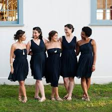 chagne bridesmaid dresses navy jcrew bridesmaid dresses photo justin photo
