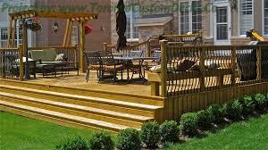 Backyard Deck Ideas Decks Ideas Deck Design Landscape Toronto Custom Deck Design