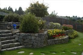 landscaping ideas for sloping blocks backyard fence ideas