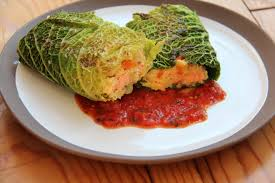 cuisiner choux paupiette de saumon au choux vert recette spéciale recyclage