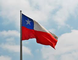 Chile National Flag Chile Nationalhymne Fahne Flagge U203a Nationalhymnen Und Fahnen