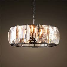 Circular Crystal Chandelier Online Get Cheap Black Round Chandelier Aliexpress Alibaba Ideas