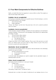 how to write an outline for a research paper example 2 developing an outline
