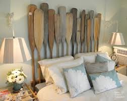 Rustic Bedroom Decor by Unique And Unusual Headboard From Padde For Rustic Bedroom