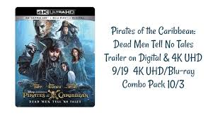 pirates caribbean dead men tales trailer