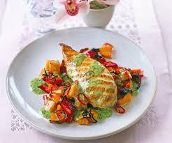 cuisiner blancs de poulet blanc de poulet grillé aux patates douces recette gourmand