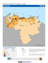 Map Of Colombia Maps Population Density Grid V1 Sedac