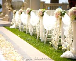 unique wedding aisle decorations beautiful black and white modern