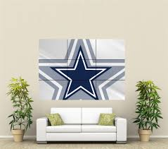 dallas cowboys giant wall art poster nfl111 ebay home decor