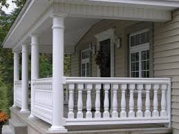 fairway vinyl masters vinyl balusters at deck builder outlet