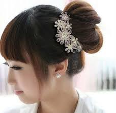 hair accessories for women new design popualr in korean design flower hair