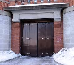 door engineering blog four fold parking garage door
