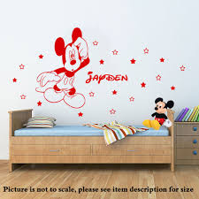 28 mickey mouse stickers for walls mickey mouse wall mickey mouse stickers for walls disney mickey mouse personalised wall sticker art decal