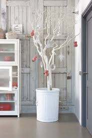 last minute diy decorations branches white