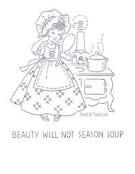 Kitchen Embroidery Designs Kitchen Proverbs Embroidery Patterns U2013 Complete Set Tipnut Com