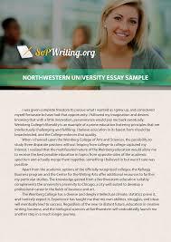 Statement Of Purpose Essay Sample Northwestern University Essay Prompt Sop Writing