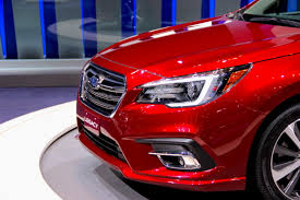 subaru legacy red 2017 refreshed 2018 subaru legacy gets a bunch of little updates