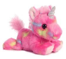 aurora stuffed animals men blueberry ripple unicorn bright fancies 7