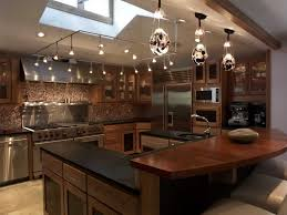 track lighting ideas for kitchen kitchen enorm stainless steel kitchen track lighting image of