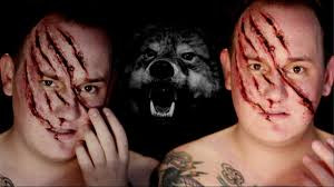 Halloween Werewolf Makeup Werewolf Attack Scratched Face Sfx Halloween Makeup Tutorial
