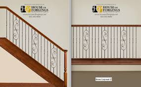 Stair Options by Baluster Layout Options U2014 844 My Stair