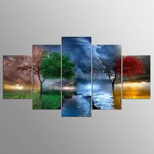 Paintings For Living Room Seasons Canvas Art Promotion Shop For Promotional Seasons Canvas