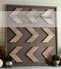 remodelaholic 9 cool wood projects november link party how to make rustic style arrow art dandelion patina