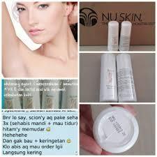 Pemutih Wajah Nu Skin nu skin scion whitening roll on deodorant free