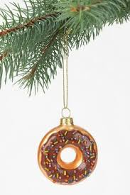 green sprinkled donut ornament 3 50 decor