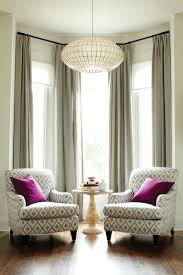 Window Curtains Ideas For Living Room Interesting Bay Window Treatment Ideas Has Bay Window Curtain
