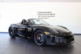 porsche boxster 2015 black 2016 porsche boxster spyder exhaust sound new country porsche
