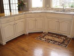 How To Antique Kitchen Cabinets With White Paint Refinishing Oak Cabinets Antique White Centerfordemocracy Org