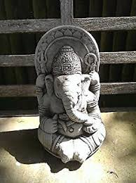 large garden ornament ganesh buddha statue co uk