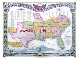 Map Of The Battle Of New Orleans by Csa Confederate Map Copyright Gb Kirchner Map Of The Confederacy Jpg
