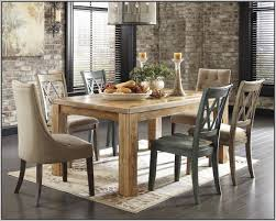 Ashley Furniture Dining Sets Ashley Furniture Dining Set Black Chairs Home Decorating Ideas