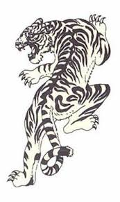 tribal tiger design by smp kitten tigers tribal