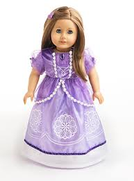 sofia the dress sofia inspired dolly dress for 15 18 dolls including 18