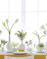 3 vases centerpieces modern wedding centerpieces martha stewart weddings