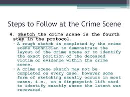 the crime scene collecting evidence today u0027s lesson question what