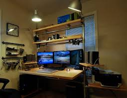 25 Best Ideas About Gaming Setup On Pinterest Pc Gaming by Setup Ideas Diy Home Office Ideasjpg 119 Best Office Spaces