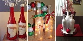 how to decorate a wine bottle for a gift 12 amazing wine bottle christmas crafts