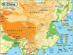 Map Of China And India by China By Andrew Tusa