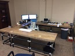 Diy Built In Desk Plans Awesome Diy Pipe Desk Plans Gallery Liltigertoo