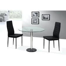 Ikea Glass Dining Table by Round Glass Dining Table 2 Chairsglass Top Set India Ikea