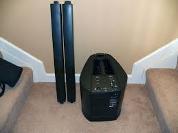 bose speakers 2 1 home theater bose l1 model ii portable line array system hi fi systems