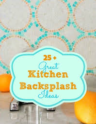 cheap kitchen backsplash alternatives remodelaholic 25 great kitchen backsplash ideas